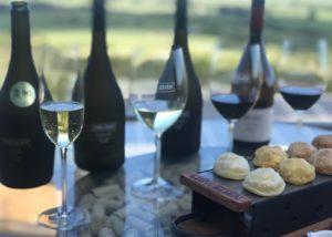 Viña Edén_Tasting wine lineup