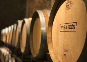 Viña Edén_ageing barrels