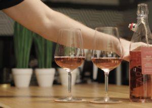 Tipchenitza Winery - rosé presentation