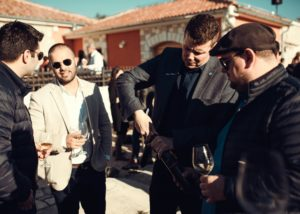 Baraka Winery - event tasting