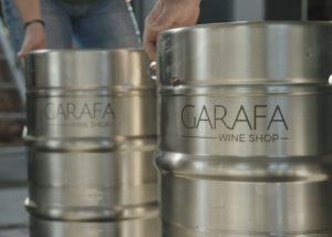 Tipchenitza Winery - inox barrels