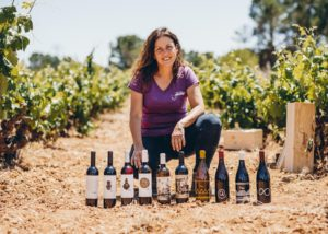 Bodegas Gratias. Familia Y Viñedos Wines in vineyard