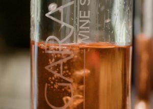 Tipchenitza Winery - sparkling rosé almost empty