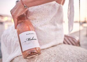 Baraka Winery - rosé bottle