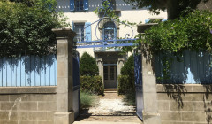 Domaine de la Senche - Main entrance in the winery