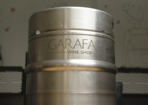 Tipchenitza Winery - one inox barrel