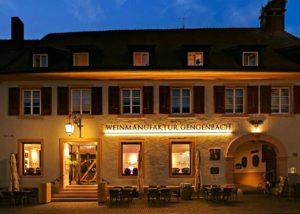 The restaurant of the Weinmanufaktur Gengenbach-Offenburg