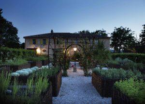 Tenuta Santi Giacomo e Filippo winery building located in Italy