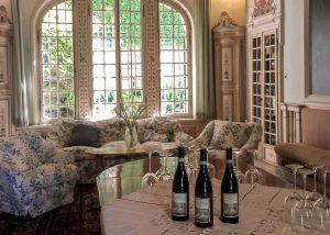 red wine grapes at villa san carlo