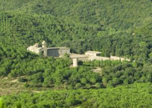 Abbaye de Fontfroide nature visit Abbey