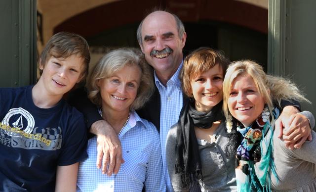 artur steinmann owners family inside beautiful winery in germany