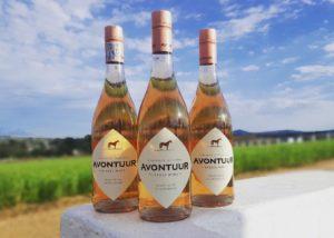 avontuur estate three bottles of beautiful wines from winery