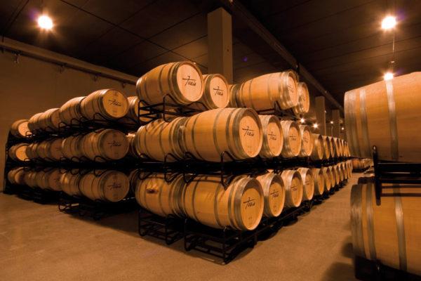 Bodegas Tobia - barrels