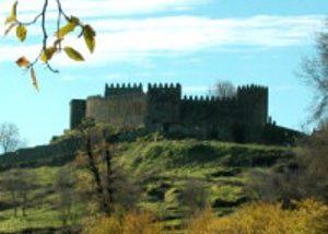 beira serra vinhos amazing old castle near winery in portugal