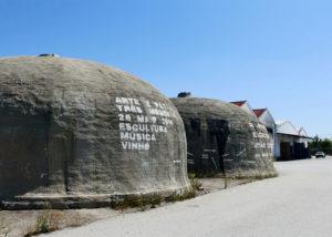 beira serra vinhos unique stone wine cellars near winery in portugal