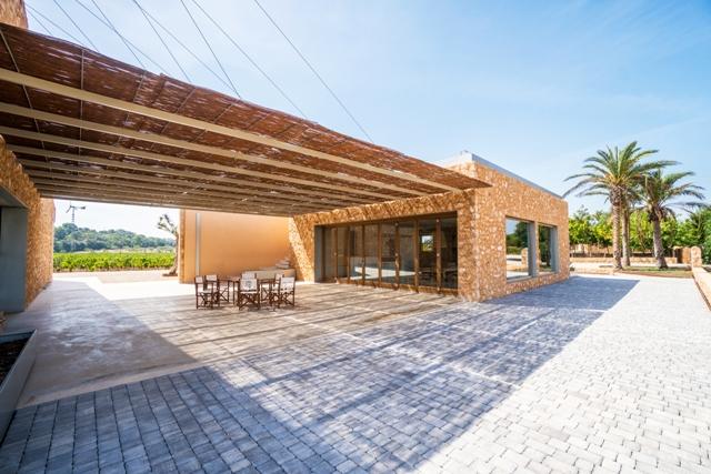 Bodega Son Juliana winery building in Spain