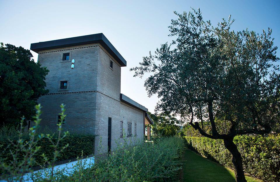 tenuta masciangelo winery building