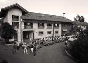 Exhibition of vintage cars and beautiful estate of Umberto Bortolotti.