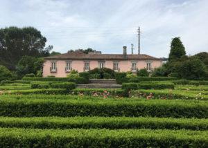 casa de vilacetinho lush vineyards against beige estate in portugal