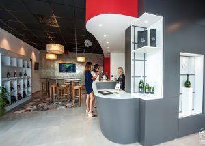 Champagne Albert Beerens - Tasting room