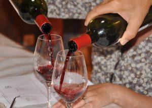 Château Bardins - red wine tasting