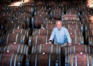 clairault streicker winemaker in the cellar in the australia