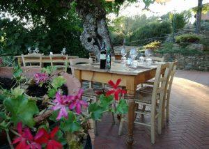 Tenuta San Vito place near winery building for wine tasting in Italy