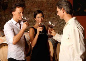 Domaine de Rocheville - Loire - Wine tasting in the tasting room