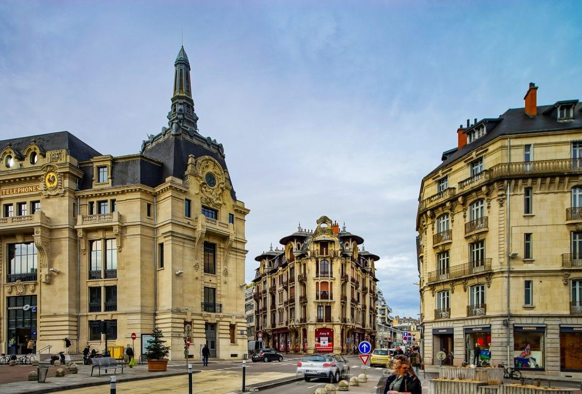 Dijon, in the heart of the Burgundy wine region