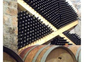 Rencel boutique wines - barrels and bottles