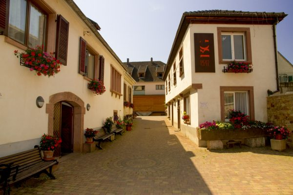 The winery at Domaine Bott-Geyl