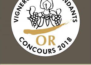 The logo Vignerons Indépendants at Domaine Des Remizieres