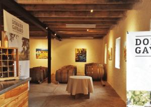 Visiting and wine tasting at Domaine Gayrard