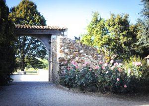 Entracnce of Chateau De La Janniere