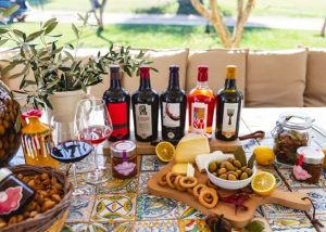 Terre Di San Vito wine tasting and food pairing process