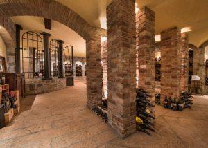 inside Tenuta Luisa building where you can taste wines