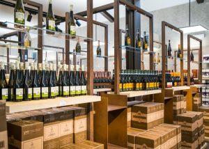 Viticoltori Associati di Vinchio Vaglio Serra wines sorted on the tables