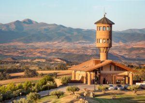 landscape of the Eguren Ugarte winery located in Spain