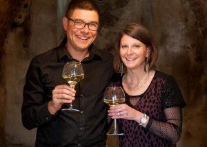 Wine tasting at Vignoble Angst in Burgundy