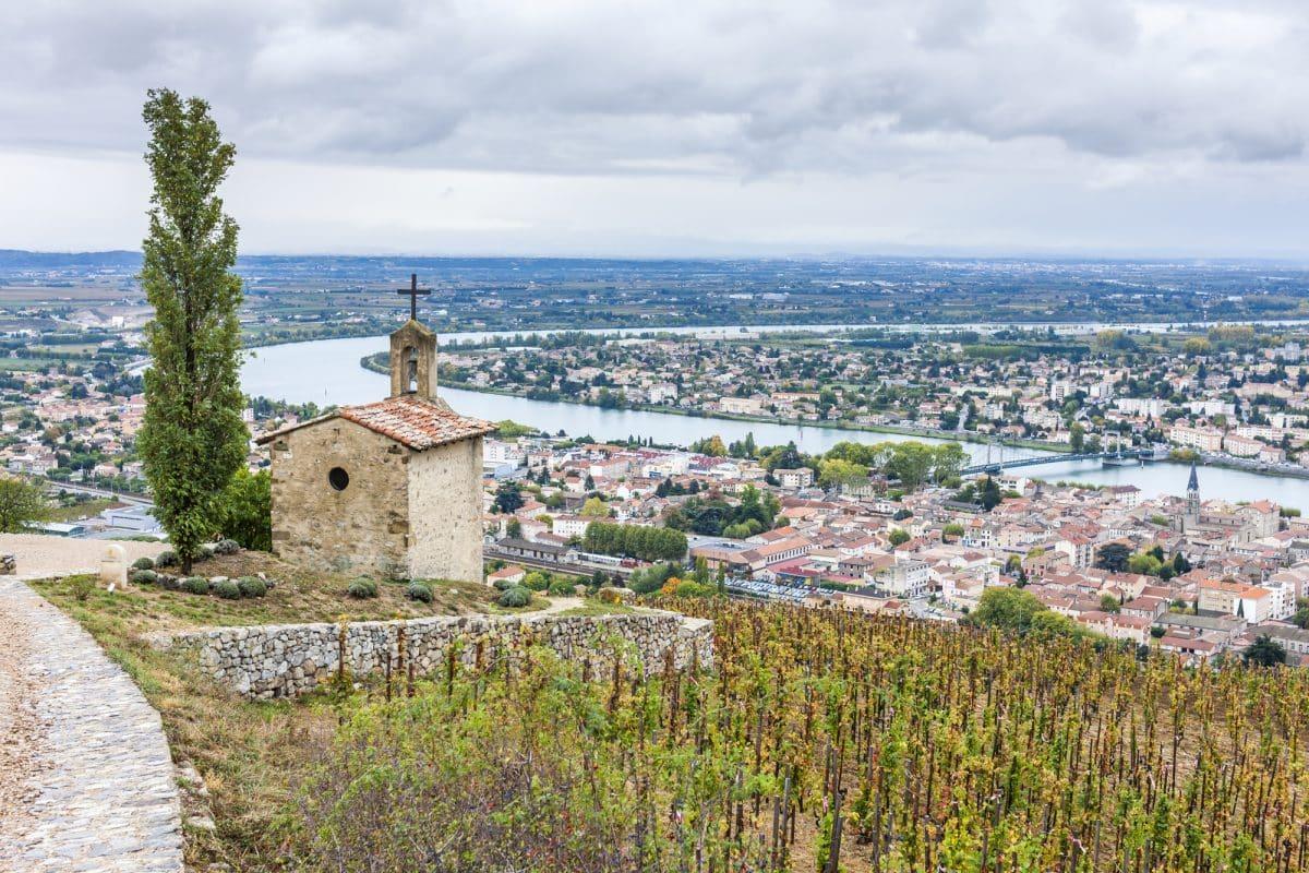 France Rhône Wine Region Landscape