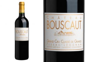 Château Bouscaut - bottle of red wine
