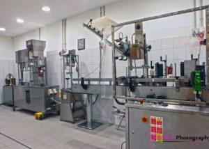 irini silva wines laboratory for wine production in the winery