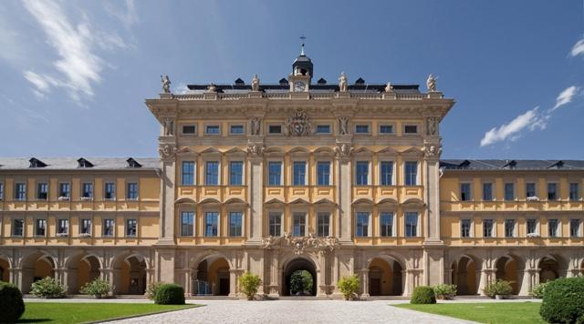 juliusspital amazing palace and great yard of the german winery