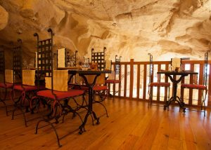 Domaine de Rocheville - Loire - Troglotic tasting room