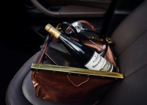müller-burggraef bottle of stunning wine in the bag