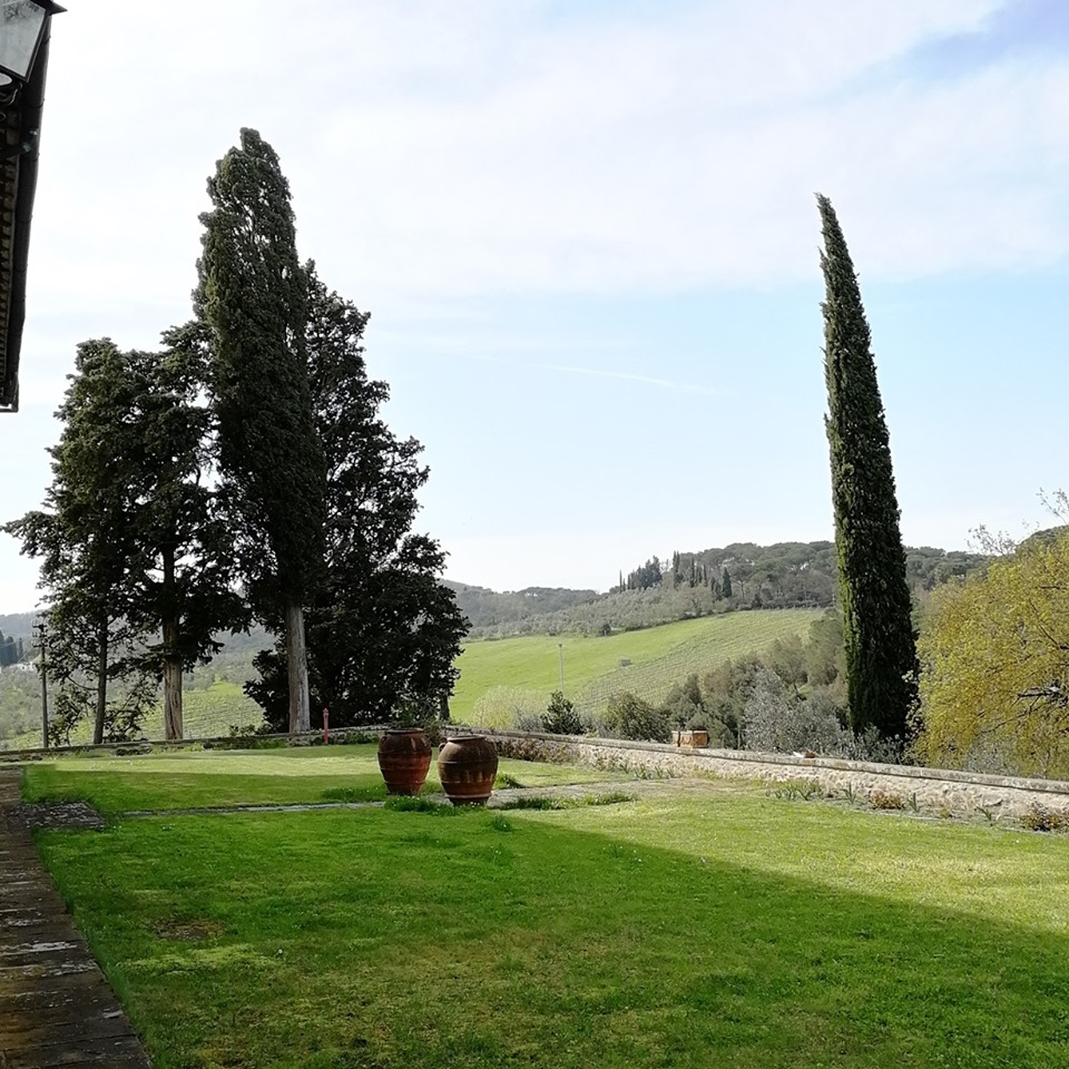 A beautiful park in the vicinity of Fattoria Montanine.