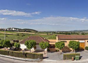 planas albareda panorama of the beautiful estate and courtyard