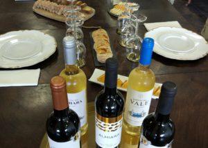 quinta da almiara five bottles of delicious wine from winery