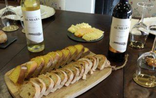 quinta da almiara delicious food and amazing wine inside estate