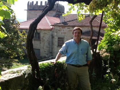 quinta da raza owner of the winery near estate in lovely portugal